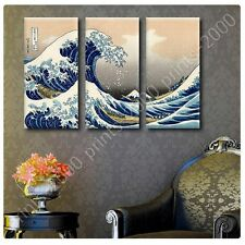 POSTER or STICKER +GIFT Decals Vinyl The Great Wave Katsushika Hokusai Paints