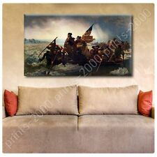 POSTER or STICKER +GIFT Decals Vinyl Washington Crossing The Delaware Emanuel