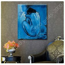 POSTER or STICKER +GIFT Decals Vinyl Blue Nude Pablo Picasso Prints Pictures