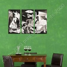 POSTER or STICKER +GIFT Decals Vinyl Guernica Pablo Picasso 3 Panels Fine Art