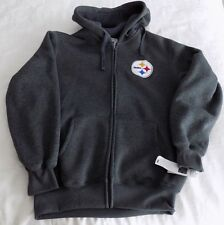 Pittsburgh Steelers G-III  Full Zip  Hooded Sweatshirt