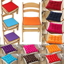 40*40cm Chair Cushion Seat Pads Tie On Garden Dining Kitchen Office Home Decor