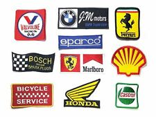 Embroidered Patch Embroidery sew on Logo Mark F1 Racing Moto Badge version 02