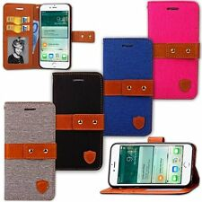 Flip Wallet Leather Cards Photo Frame Stand Case Cover For Apple iPhone 7/7 Plus