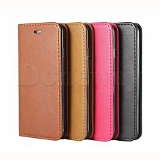 Stylish Folio Flip Wallet Stand Sheepskin Pattern Case Cover For iPhone 7 7 Plus