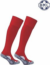 MACRON RAYON SOCKS - RED - 4 sizes available