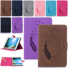 -YPBF Embossing Card Wallet Leather Case Cover For Apple iPad Air 2/1 Pro Mini 4