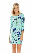 NWT 2XS Lilly Pulitzer UPF 50+ Sophie Dress color Bright Navy Tiger Palm 2XS