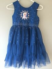 NWT DISNEY STORE Frozen Elsa PARTY DRESS 7/8,9/10