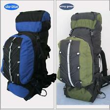 Large 80L Camping Hiking Outdoor Backpack Waterproof Nylon Child-Mother Packs