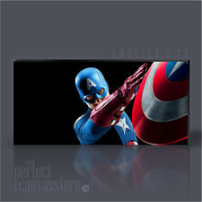 CAPTAIN AMERICA - AVENGER AWESOME GIANT ICONIC CANVAS ART PRINT - Art Williams L