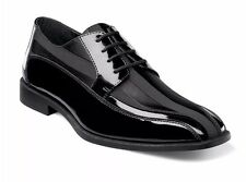STACY ADAMS Mens Royalty Bicycle Wedding Tuxedo Dress Shoes Black 24669-001