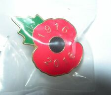 Official Royal British Legion 1916-2016 Poppy All Proceeds To Local Poppy Appeal
