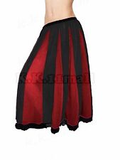 Stylish Skirt For Women Sheer Chiffon Fabric Skirt Below Knee Skirt For Girl