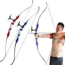 Archery Takedown Recurve Bow Alloy Riser Target Hunting Practice Longbow 26-28Lb
