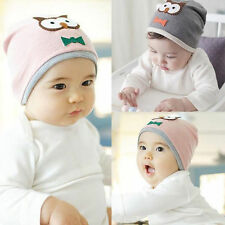 Unisex Newborn Baby Cotton Owl Beanie Cap Children Soft Cap Toddler Kid Hat