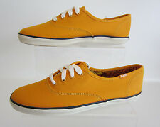 Keds Ladies Champ Ox Yellow WF43924 Lace Up Canvas Shoes UK 3 to 6.5 (R41B)