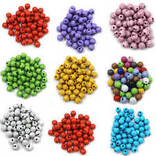 Round Crackle Beads Craft Jewellery Beading ( 200 -6mm )( 100 -8mm )(100 -10mm )