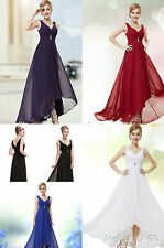 Dress Evening Party Long Formal Prom Gown Ball Bridesmaid Size Uk 6 Cocktail UK
