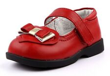 """Freycoo """"Ariel"""" Red Leather Shoes Girls Mary Janes"""