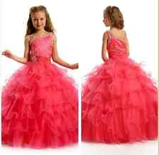 Flower Girl Dresses for BirthdayParty Wedding Bridesmaids Prom BallGown Pageant