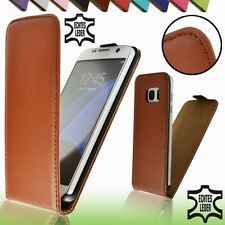 Real Leather Flip Case Cover Protective Case Galaxy iPhone Pouch Wallet