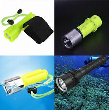 CREE-T6 CREE-XPE CREE-L2  LED Waterproof Diving Flashlight Underwater Torch