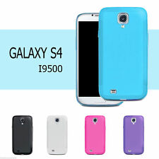 NEW Matte Gel Surface TPU Case Soft Cover For Galaxy S4 IV I9500
