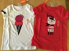 Gymboree Ciao Puppy 6 7 8 10 Ice Cream or BFF Tee Shirt Top NWT
