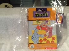 Leap Frog LeapPad Math Monster Money Learning Book and Cartridge