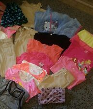 Large lot of girls school clothes size 6/7~ old navy~pants~shirts~dress-sweaters
