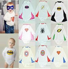 Romper Baby Costume Outfit Superhero Party Fancy Superman Costumes