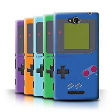 STUFF4 Back Case/Cover/Skin for Sony Xperia C/C2305/Video Gamer/Gameboy