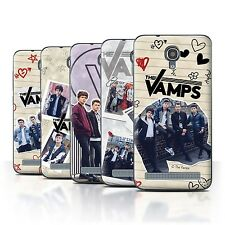 Official The Vamps Case/Cover for Alcatel Idol 2 Mini S /The Vamps Doodle Book