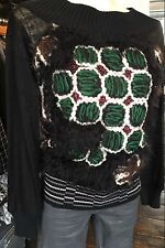 SAVE THE QUEEN NS AW16 GREEN FURRY TOP S,M £210