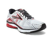 New Mens Brooks Ravenna 6 Running Shoes Wide 2E White/Red/Black/Silver MSRP $110