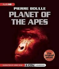 PLANET OF THE APES - PIERRE BOULLE - 6 CD AUDIO BOOK - UNABRIDGED - NEW/SEALED