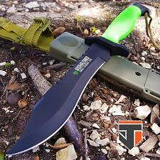 """12"""" BIOHAZARD ZOMBIE SURVIVAL Tactical Fixed Blade BOWIE Hunting Knife COMBAT"""
