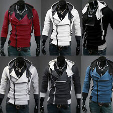 Stylish Creed Hoodie Cool Slim men's Cosplay For Assassins Jacket Costume LA559a