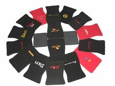 901-GTX Plymouth GTX Black Red Loop Floor Mats With Embroidered Logo