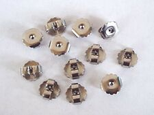 Large Stainless Steel Friction Ear Nuts - Earring Backs