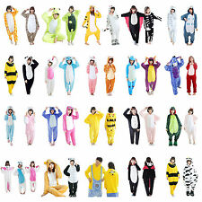 New Unisex Adult Animal Pajamas Cosplay Kigurumi Costume Anime Onesie Sleepwear
