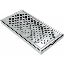 Stainless Steel Countertop Bar Drip Tray - 30.5x15.2cm (12x6