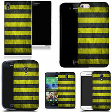 gel case cover for many mobiles  - yellow groove silicone
