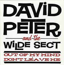 "DAVID PETER & THE WILDE SECT Out Of My Mind vinyl 7"" NEW garage punk The Youth"