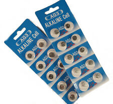 AG3 SR41 LR41 G3 192 392 BUTTON / COIN CELL WATCH BATTERIES