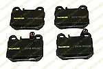 Monroe DX874A Rear Premium Semi Metallic Brake Pads