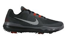 New Men's Nike TW 15 Tiger Woods Black/Red/Grey Golf Shoes MSRP $230