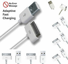 1M USB Plug Charging Data Cable Charger Wire Compatible For iPhone 4S iPad iPod
