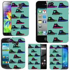 gel case cover for many mobiles - azure coloured boots silicone